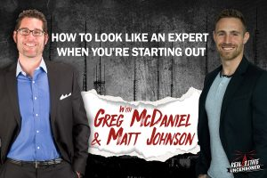 How to Look like an Expert When You're Starting Out