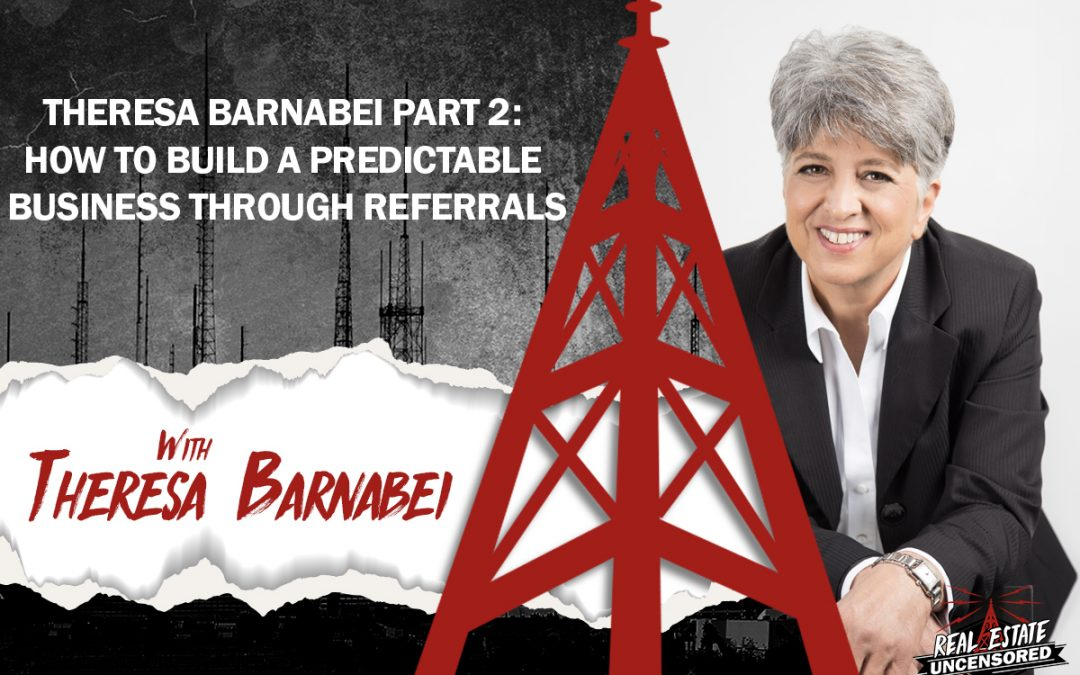 Theresa Barnabei Part 2: How to Build a Predictable Business Through Referrals