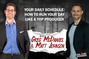 Your Daily Schedule: How to Run Your Day Like a Top Producer