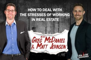How to Deal With the Stresses of Working in Real Estate